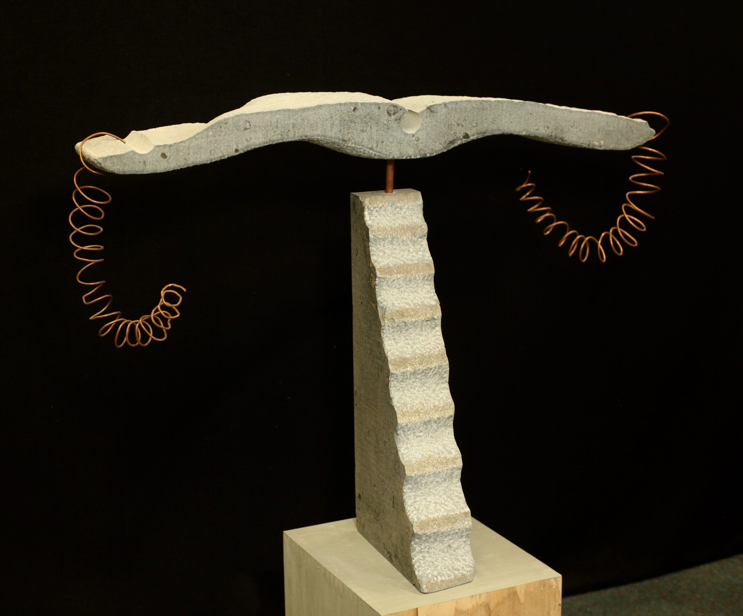 Xerxa sculpture limestone