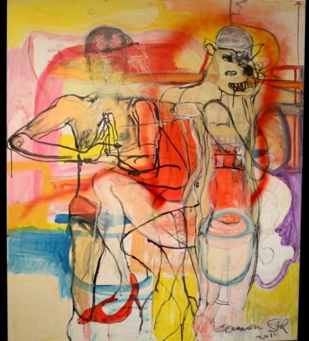 Eleonora Stol painting