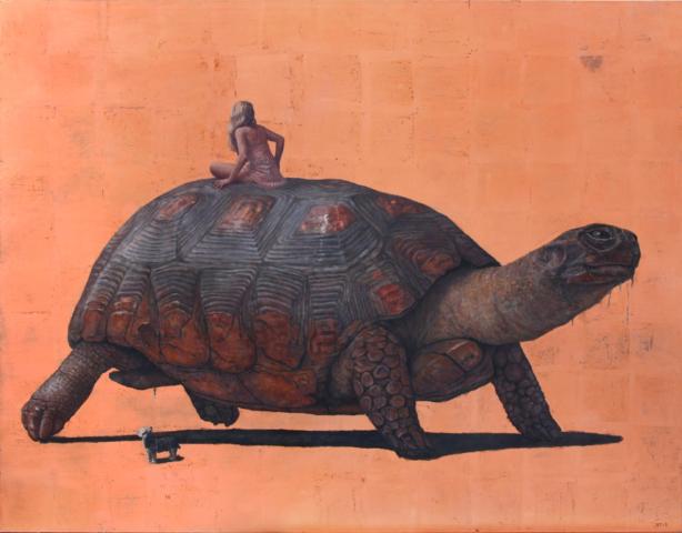 Erik Tierolf turtle painting